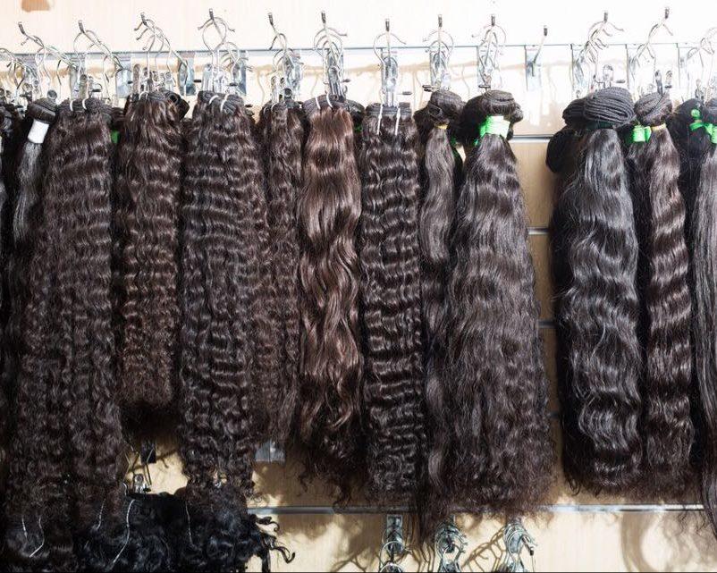 extensions sur cheveux afro